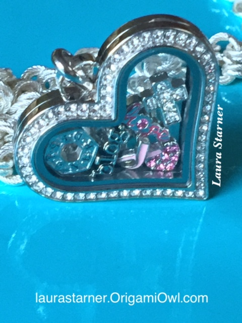 Heart locket-different angle