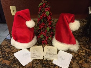 Christmas Traditions Life letters...