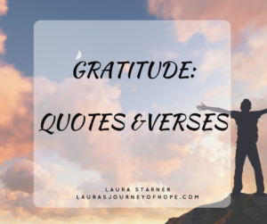 Gratitude: Quotes and Verses