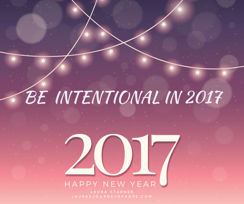 Be Intentional In 2017